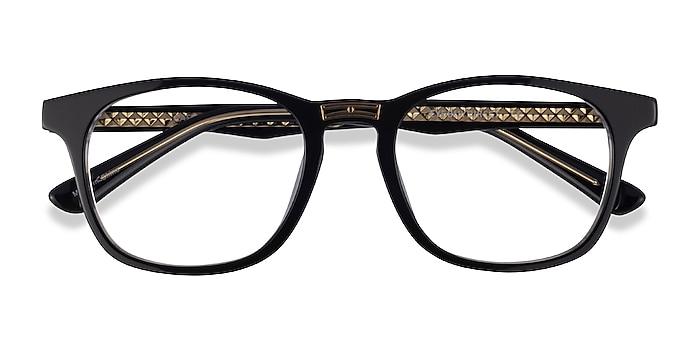 Black Gold Casting -  Acetate Eyeglasses