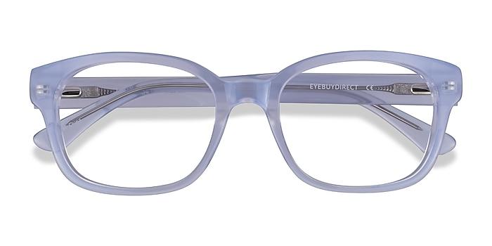 Iridescent Clear Neon -  Acetate Eyeglasses