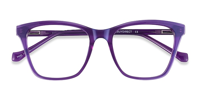 Iridescent Purple Luminescence -  Acetate Eyeglasses