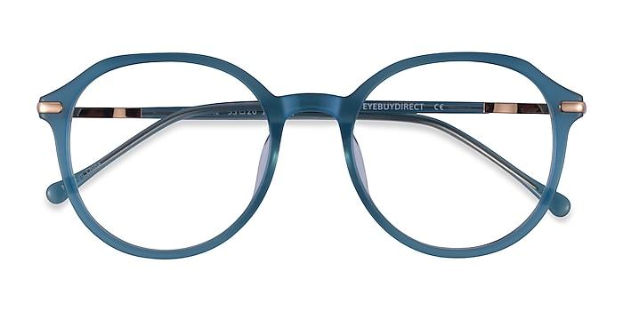 Iridescent Blue Original -  Acetate Eyeglasses