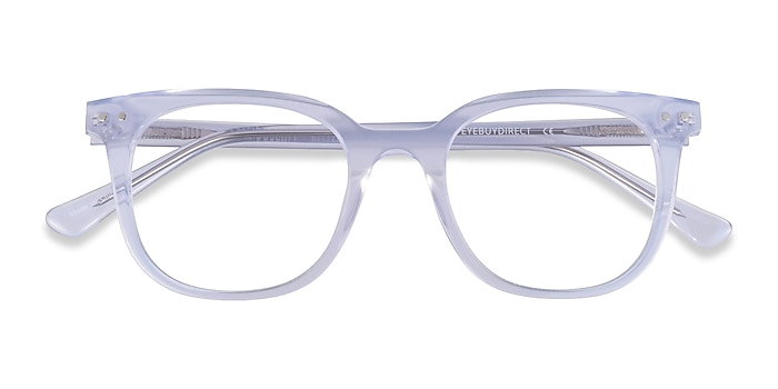 Iridescent Clear Kaleidoscope -  Acetate Eyeglasses