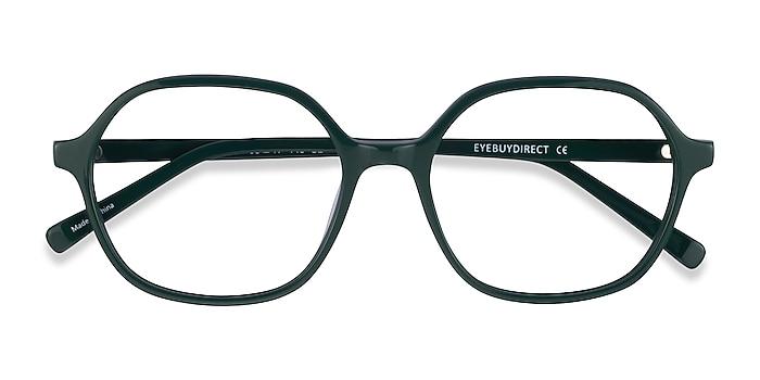 Green Pigment -  Acetate Eyeglasses