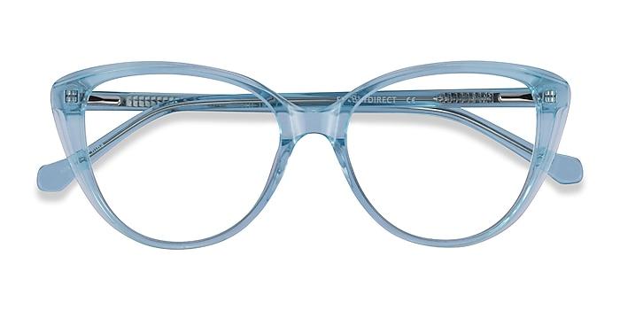 Clear Blue Destin -  Acetate Eyeglasses