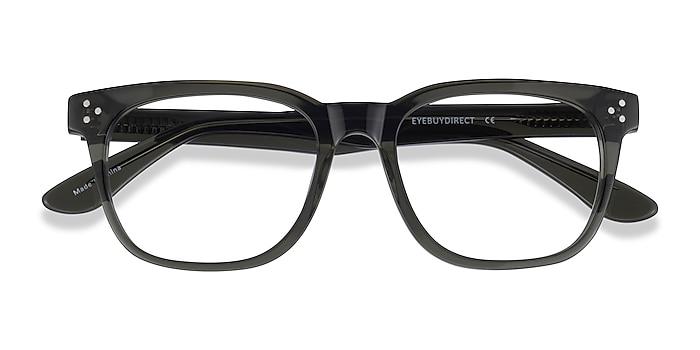 Clear Khaki Green Adriatic -  Acetate Eyeglasses