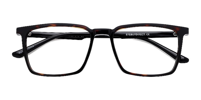 Tortoise Black Fjord -  Acetate Eyeglasses