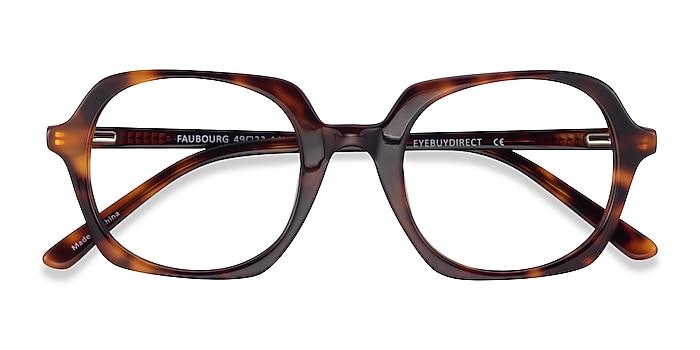 Tortoise Faubourg -  Acetate Eyeglasses