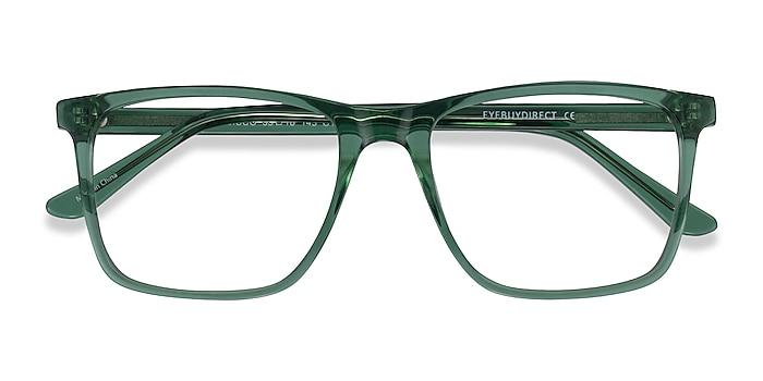 Clear Green Francisco -  Acetate Eyeglasses