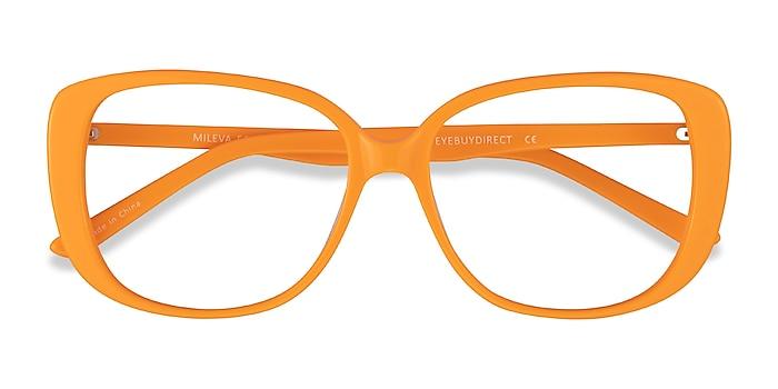 Orange Mileva -  Acétate Lunettes de vue