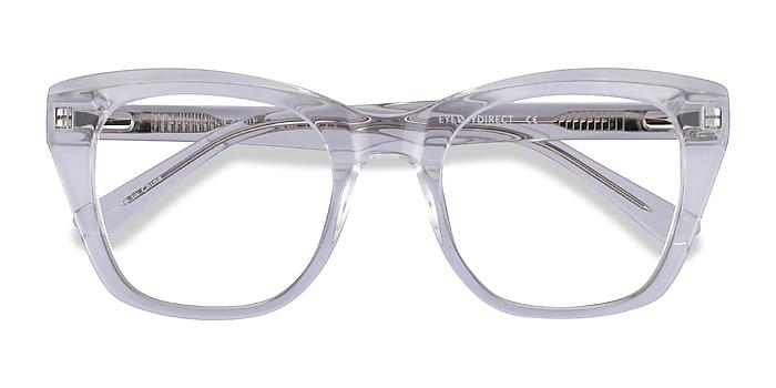 Clear Cassie -  Acetate Eyeglasses