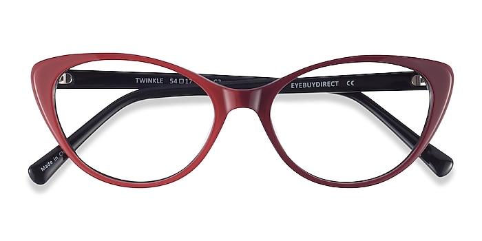 Rouge Twinkle -  Acétate Lunettes de vue