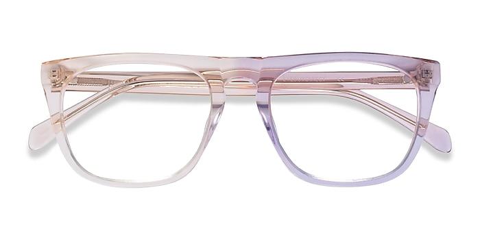Clear Brown Zephyr -  Acetate Eyeglasses