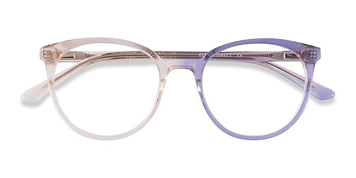 Clear Brown Apogee -  Acetate Eyeglasses
