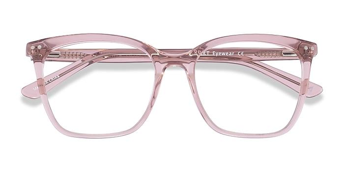 Clear Pink Meliora -  Acetate Eyeglasses