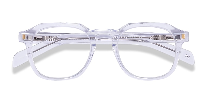 Clear Apricus -  Acetate Eyeglasses
