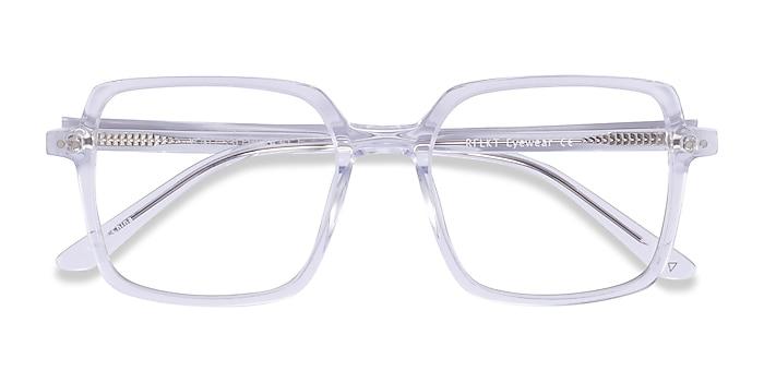 Clear Yoko -  Acetate Eyeglasses