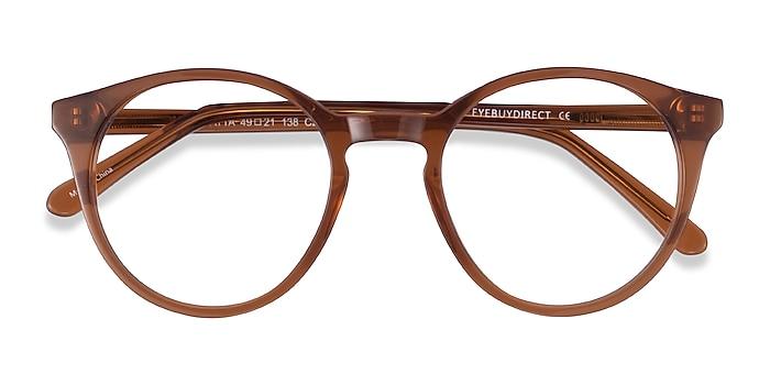 Clear Brown Latta -  Acétate Lunettes de vue
