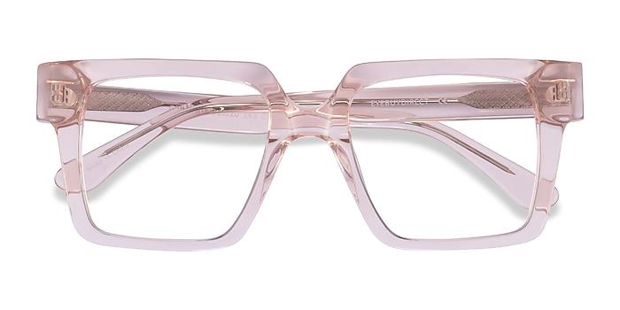 Clear Pink Granada -  Acetate Eyeglasses
