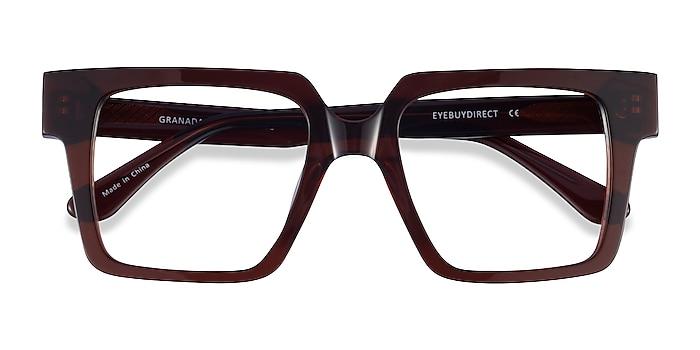 Dark Brown Granada -  Acetate Eyeglasses