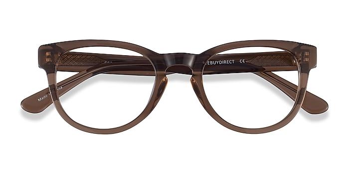Clear Brown Cezanne -  Acetate Eyeglasses