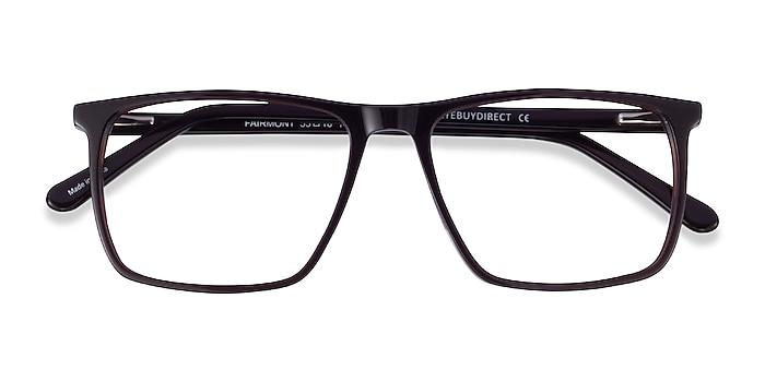 Dark Brown Fairmont -  Acetate Eyeglasses
