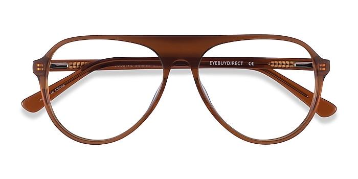 Clear Brown Percussive -  Acetate Eyeglasses