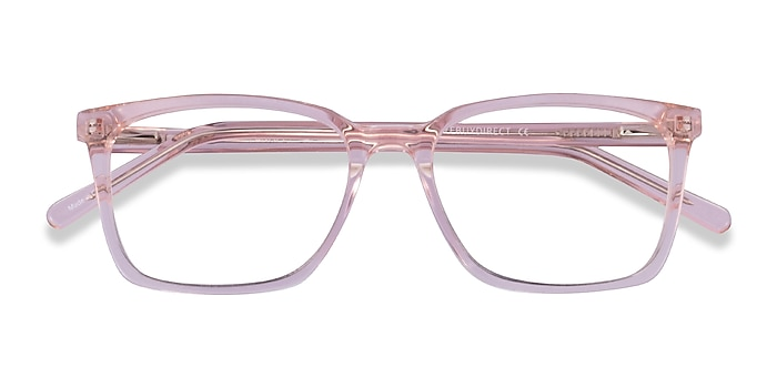Clear Pink Panoply -  Acetate Eyeglasses