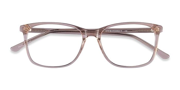 Clear Pink Crescendo -  Acetate Eyeglasses