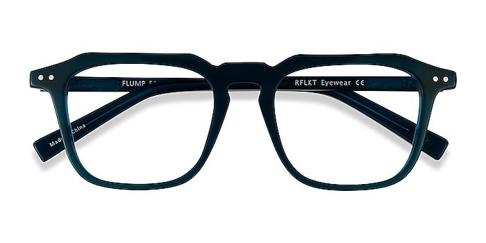 Teal Flump -  Acetate Eyeglasses