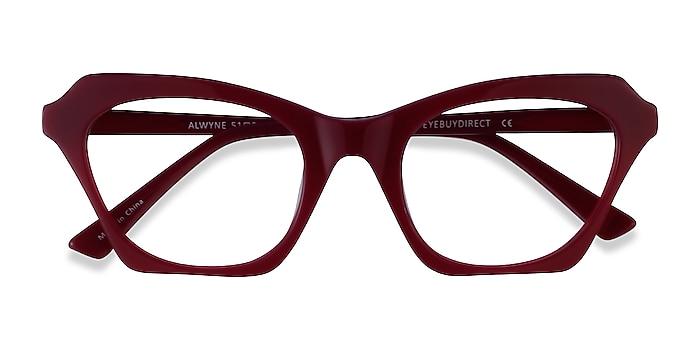 Burgundy Alwyne -  Acetate Eyeglasses