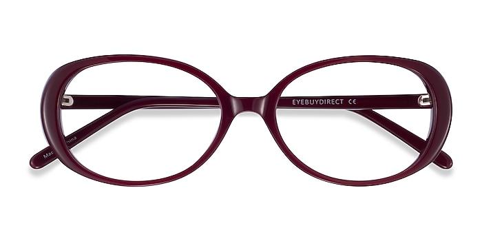 Burgundy Surrey -  Acetate Eyeglasses