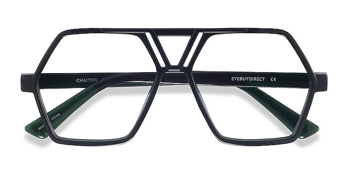 Vert Chalton -  Plastique Lunettes de vue