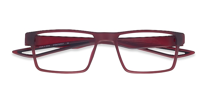 Matte Red Icarus -  Plastic Eyeglasses