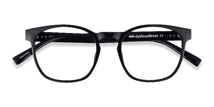 Black Oakwood -  Plastic Eyeglasses