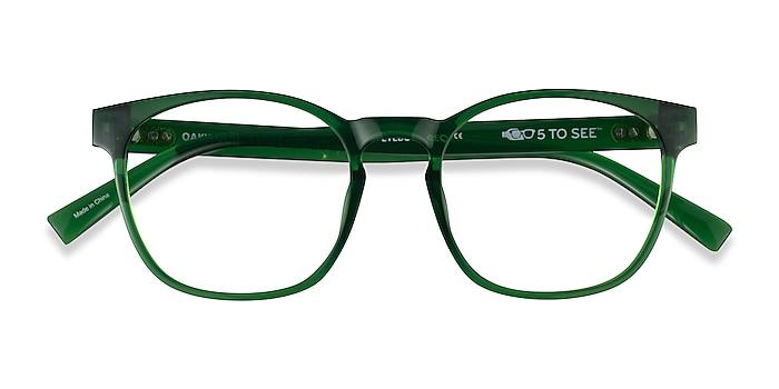 Clear Green Oakwood -  Plastique Lunettes de vue