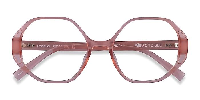 Clear Nude Cypress -  Plastic Eyeglasses