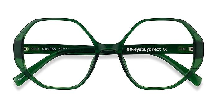 Clear Green Cypress -  Plastic Eyeglasses