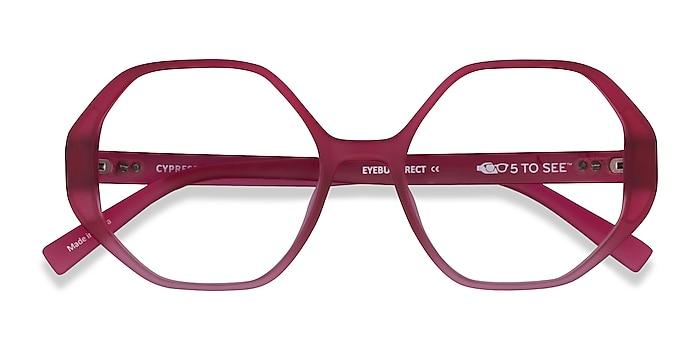 Matte Red Cypress -  Plastic Eyeglasses