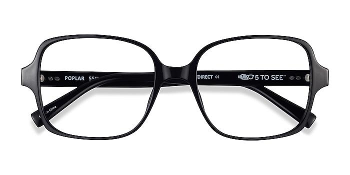 Black Poplar -  Plastic Eyeglasses