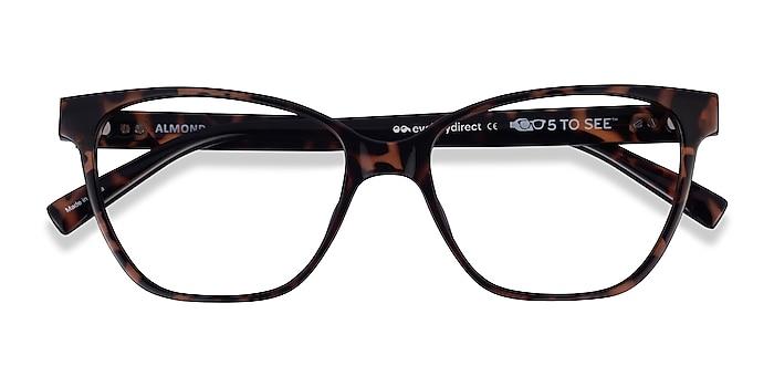 Tortoise Almond -  Plastic Eyeglasses