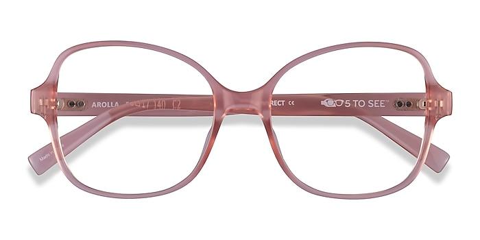 Clear Nude Arolla -  Plastic Eyeglasses