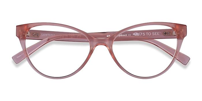 Clear Nude Lantana -  Plastic Eyeglasses