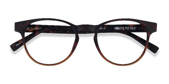 Matte Trotoise Brown Osier -  Plastic Eyeglasses