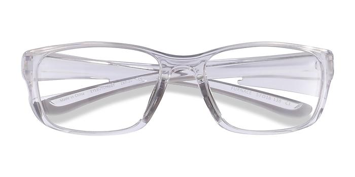 Clear Gray Furnace -  Plastic Eyeglasses