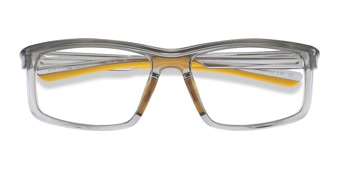 Clear Gray Yellow Drill -  Plastique Lunettes de vue