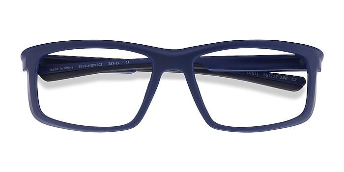 Navy Black Drill -  Plastic Eyeglasses