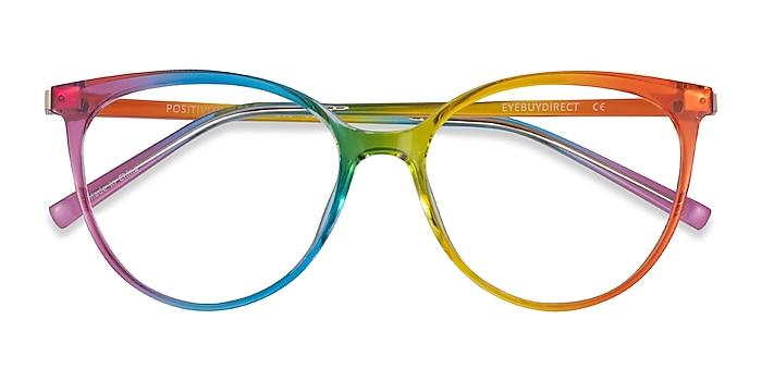 Rainbow Positivity -  Plastic Eyeglasses