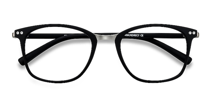 Matte Black Savannah -  Fashion Plastic, Metal Eyeglasses