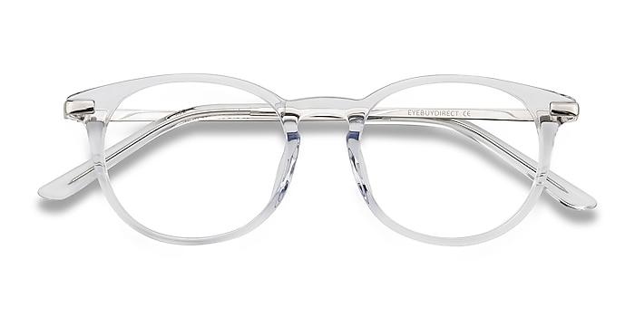 Translucent Mood -  Lightweight Acetate, Metal Eyeglasses