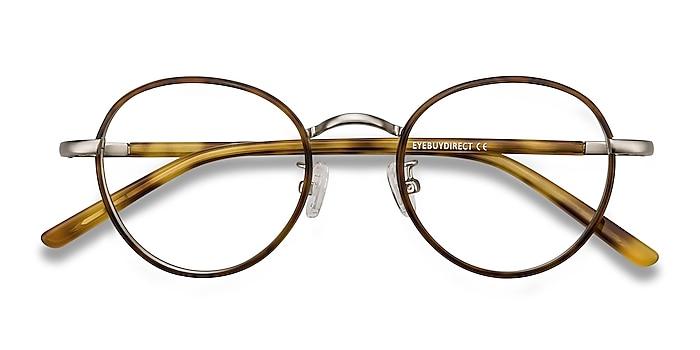 Tortoise Anywhere -  Vintage Acetate, Metal Eyeglasses