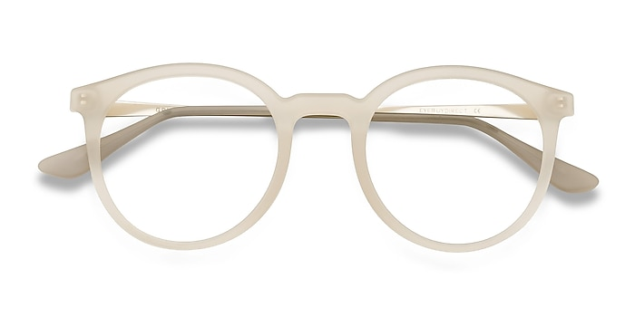 Matte Clear Grin -  Plastic, Metal Eyeglasses